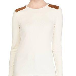Lauren Ralph Lauren Long Sleeve Soft Stretch Top